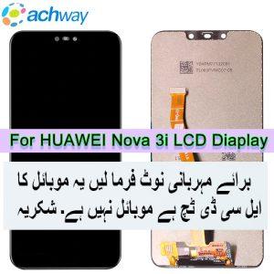 Huawei Nova 3i LCD Display Touch Screen