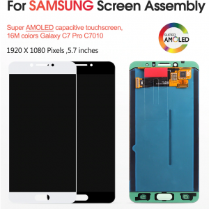 Samsung Galaxy C7 Pro LCD Display + Touch Screen Panel buy in Pakistan