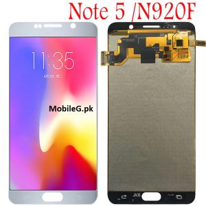 Samsung Note 5 Touch Screen Note 5 Display Miner Shade Display Original Panel. Buy In Pakistan
