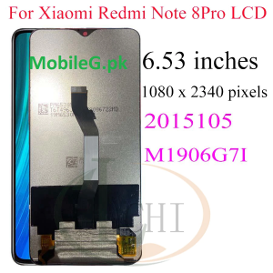 Xiaomi Redmi Note 8 Pro LCD Display Note8 Pro M1906G7I Display Touch Screen Buy In Pakistan